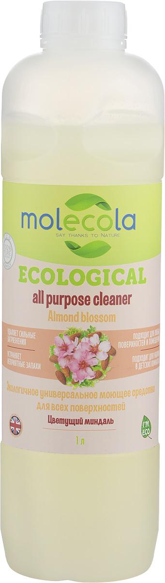 Универсальное моющее средство Molecola Almond Blossom, для всех поверхностей, экологичное, 1 л9059Универсальное моющее средство Molecola Almond Blossom подходит для всех поверхностей в доме идеально подходит для эффективной и гигиенической очистки любых поверхностей. Экономично в использовании. Устраняет и предотвращает появление неприятных запахов. Обладает антибактериальными свойствами. Безопасно для кожи и дыхательных путей. В концентрированном виде используется для очистки ванн, раковин, детских ванночек, горшков и других поверхностей. Требует смывания. В разведенном виде используется для мытья пола (керамической плитки, окрашенных полов, ламинированной доски, паркета, линолеума) и других гладких поверхностей в доме (столы, стены, мебель, дерево, камень, синтетика). Не требует смывания. При использовании раствора для мытья детских игрушек, стульчиков, колясок, манежей и других поверхностей требует смывания. Рекомендовано людям, имеющим аллергическую реакцию на средства бытовой химии. Состав: Вода, > 5%...