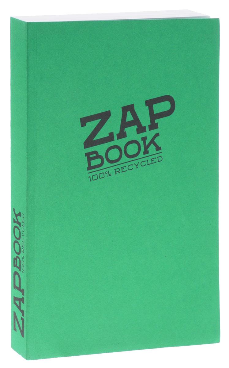 Clairefontaine Блокнот для эскизов Zap Book 160 листов цвет зеленый3355С_зеленыйClairefontaine - французская компания, выпускающая канцелярские товары, тетради и блокноты с 1858 года. Блокнот для эскизов Clairefontaine Zap Book формата А5 идеален для рисования, эскизов и заметок. Изготовлен из переработанной бумаги. Цветная обложка из плотного картона. Внутренний блок на 320 страниц на склейке, без разметки.