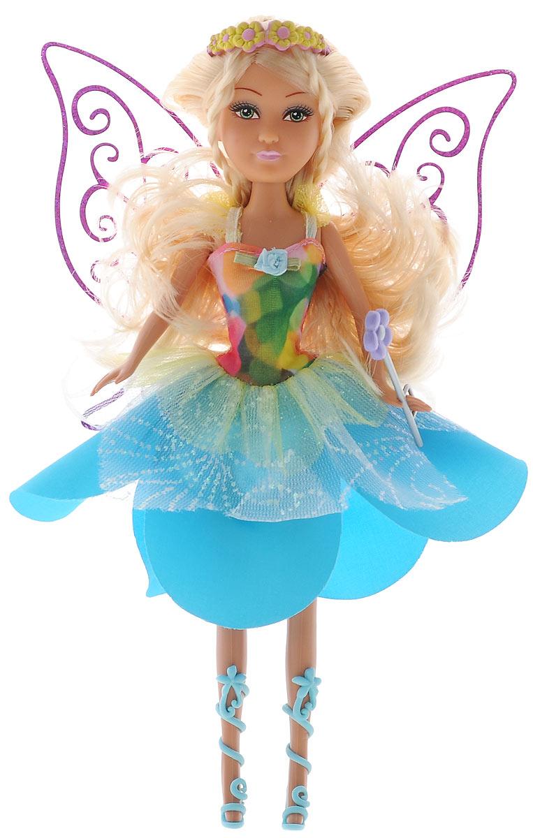 ABtoys Кукла Brilliance Fair Seasonal Fairy2400063Великолепная кукла Цветочная фея обязательно порадует вашу малышку и доставит ей много удовольствия от часов, посвященных игре с ней. Куколка с длинными светлыми волосами и зелеными глазами одета в великолепный наряд: яркое платье с подолом в виде лепестков цветка. Вместе с куклой в наборе предлагается оригинальная диадема с цветочками и голубые босоножки. У феи также имеется волшебная палочка. Куколка фея станет настоящей подружкой для своей юной обладательницы! Порадуйте свою малышку таким великолепным подарком!