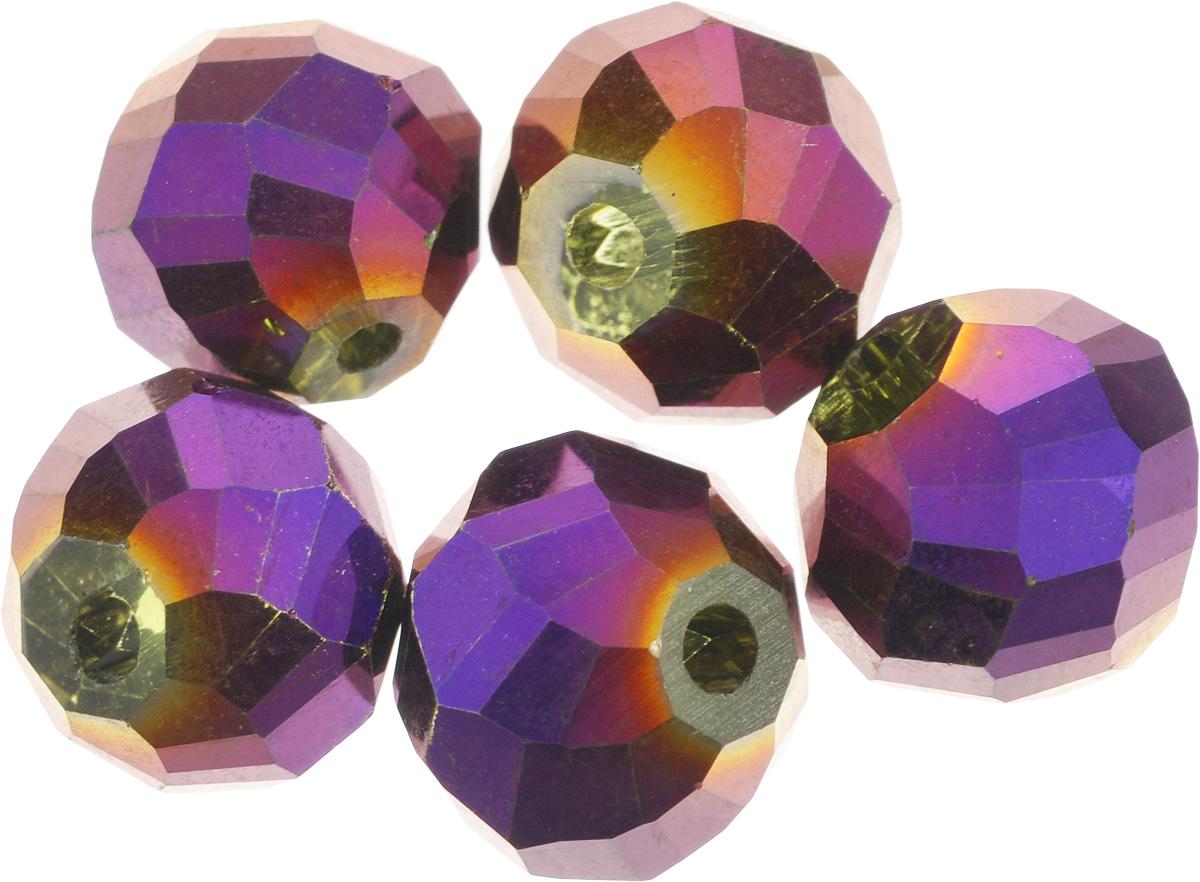 Бусины Астра Premium, цвет: фиолетовый (4), 12 х 12 мм, 5 шт7712147_4-фиолетНабор бусин Астра Premium, изготовленный из стекла, позволит вам своими руками создать оригинальные ожерелья, бусы или браслеты. Граненые бусины имеют два отверстия для продевания нитки или лески. Изготовление украшений - занимательное хобби и реализация творческих способностей рукодельницы, это возможность создания неповторимого индивидуального подарка. Размер бусины: 12 х 12 мм.