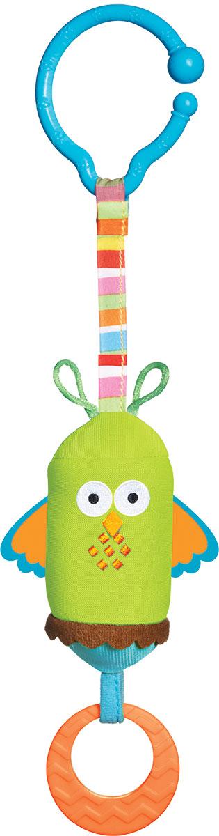 Tiny Love Игрушка-подвеска Сова1111401110Яркая игрушка-подвеска Tiny Love Сова придется по душе вашему малышу. Игрушка выполнена из пластика и текстильного материала различных фактур в виде забавной совы. Внутри туловища игрушки расположен колокольчик, звенящий при тряске. Снизу к игрушке крепится прорезыватель. С помощью пластиковой клипсы игрушку легко можно прикрепить к детской кроватке, коляске или автомобильному креслу. Игрушка-подвеска Сова поможет развить у малыша мелкую моторику рук, звуковое и зрительное восприятие, тактильные ощущения, координацию движений, а милый жизнерадостный образ подарит малышу хорошее настроение!