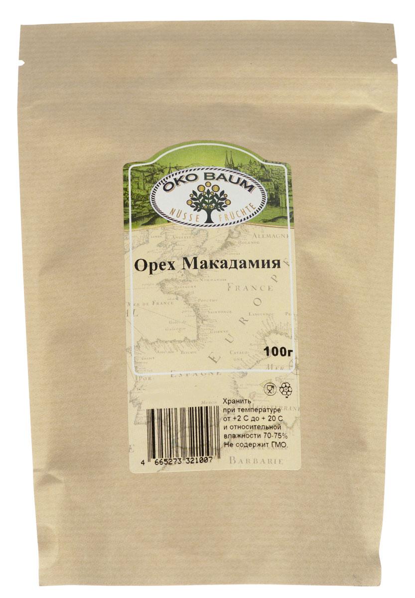 Oko Baum макадамия, 100 г4665273321007В ореховом царстве есть свой король. Имя ему макадамия, а родом Его Величество из Австралии. На сегодняшний день макадамия – самое дорогое ореховое лакомство в мире. Дороговизна австралийского ореха определяется тем, что его очень мало выращивают. Макадамия Oko Baum – кладезь ценных питательных веществ. Этот орех помогает выводить из организма холестерин, он является источником кальция и других минеральных веществ. В нем мало углеводов, зато относительно много жиров. По мнению ученых, регулярное употребление в пищу целебных орехов понижает риск возникновения сердечно - сосудистых заболеваний, некоторых видов рака и даже способствует потере лишнего веса. Удивительно, но орехи макадамии, очень полезные для людей, почему-то не переносят собаки: макадамия для них ядовита.