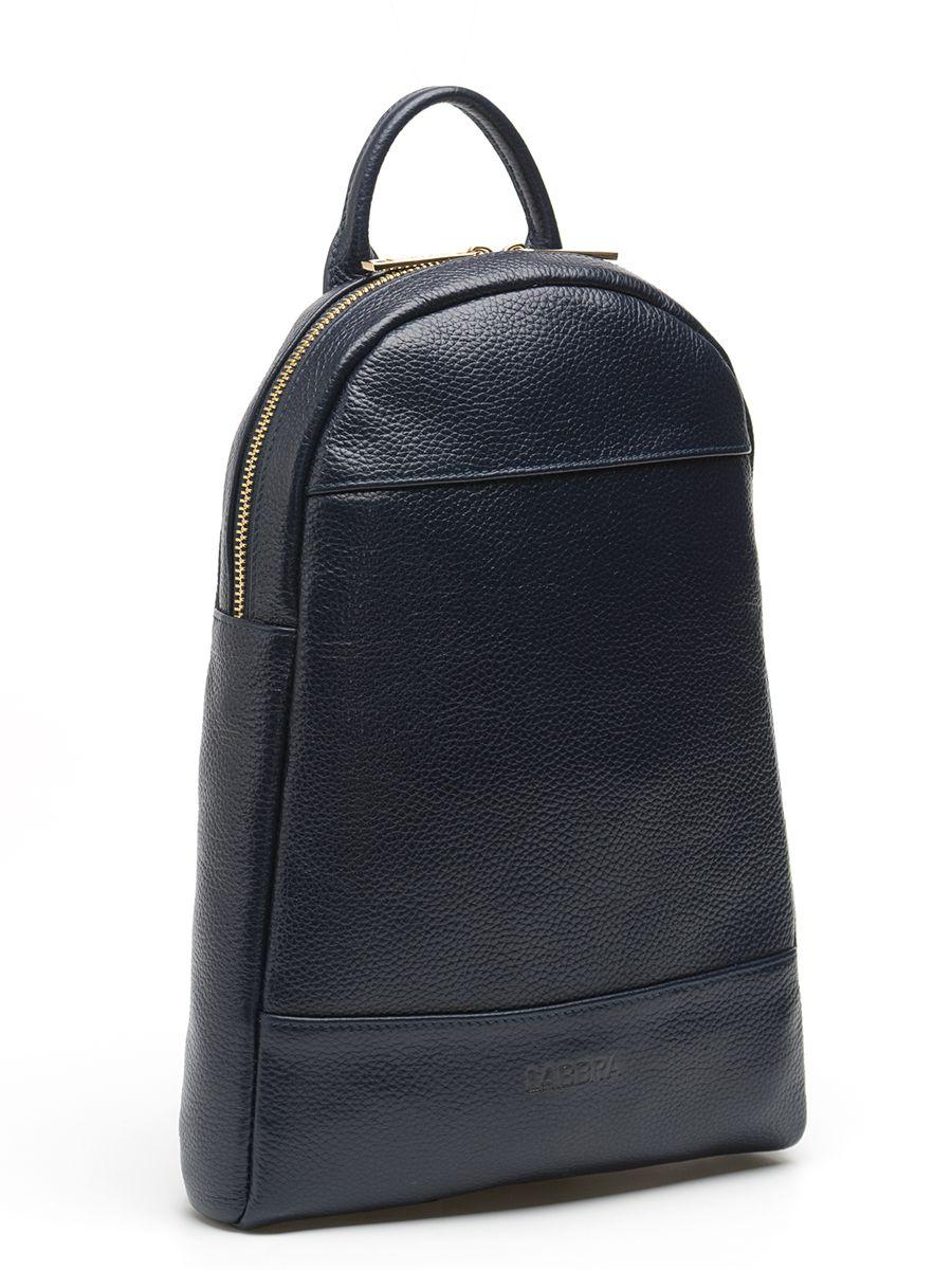 Рюкзак женский Labbra, цвет: темно-синий. L-9427L-9427Оригинальный рюкзак Labbra выполнен из натуральной кожи с зернистой фактурой, декорирован золотистой фурнитурой, декоративной прострочкой и тиснением в виде символики бренда. Рюкзак имеет вместительное основное отделение, которое закрывается на застежку-молнию, и вертикальный прорезной карман на молнии с тыльной стороны изделия. Внутри имеется прорезной карман на застежке-молнии и один накладной карман для телефона и мелочей. Изделие оснащено удобной ручкой для переноски и практичными лямками из натуральной кожи, которые регулируются по длине и могут быть соединены в одну посредством молнии. Прилагается фирменный текстильный чехол для хранения. Рюкзак Labbra - это выбор молодой, уверенной, стильной женщины, которая ценит качество и комфорт. Изделие станет изысканным дополнением к вашему образу.