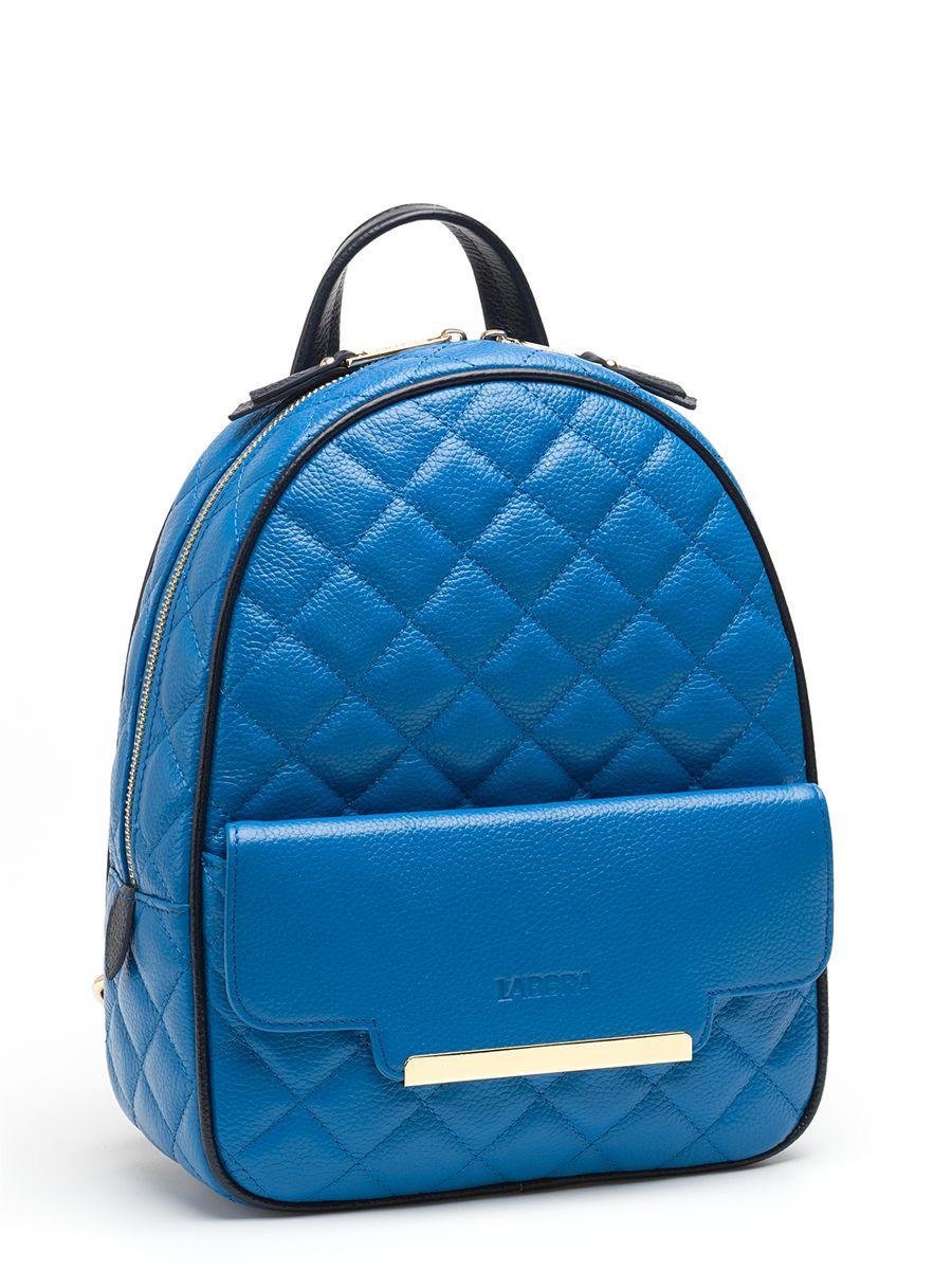 Рюкзак женский Labbra, цвет: синий. L-9915-3L-9915-3Стильный женский рюкзак Labbra, выполненный из натуральной кожи с зернистой фактурой, оформлен тиснением в виде логотипа бренда и декоративной строчкой. Изделие содержит одно основное отделение, закрывающееся на застежку-молнию. Внутри расположены два накладных кармана для мелочей и врезной карман на застежке-молнии. Снаружи, на передней стенке находится накладной карман, закрывающийся клапаном на магнит. Задняя сторона изделия дополнена потайным карманом на застежке-молнии. Рюкзак оснащен удобными лямками регулируемой длины и петлей для подвешивания. Практичный и стильный аксессуар позволит вам завершить свой образ и быть неотразимой.