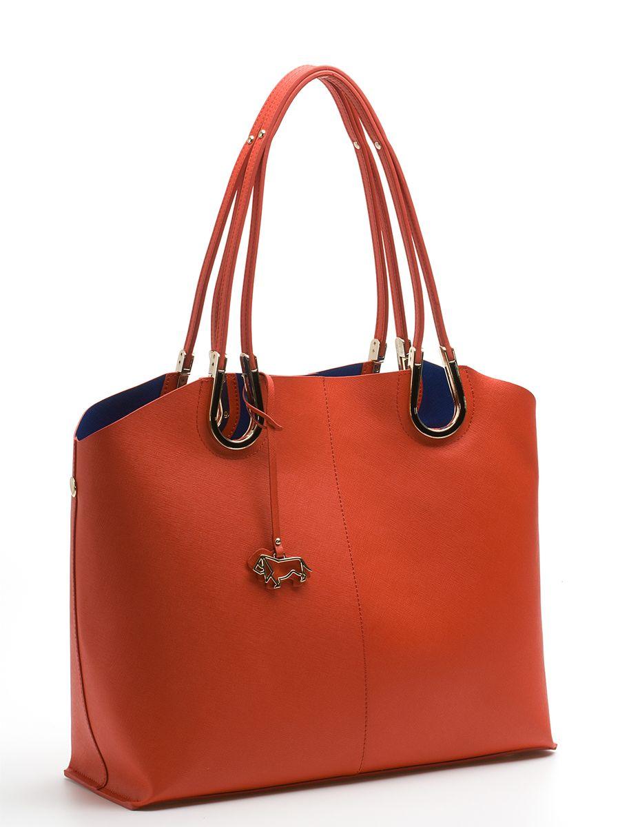 Сумка женская Labbra, цвет: оранжевый, темно-синий. L-DA80745-2L-DA80745-2