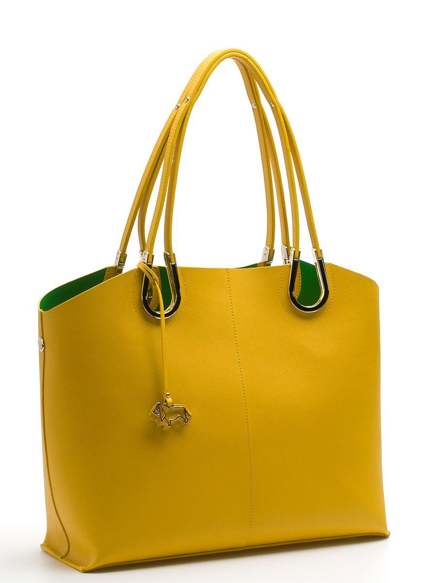 Сумка женская Labbra, цвет: желтый, зеленый. L-DA80745-2L-DA80745-2