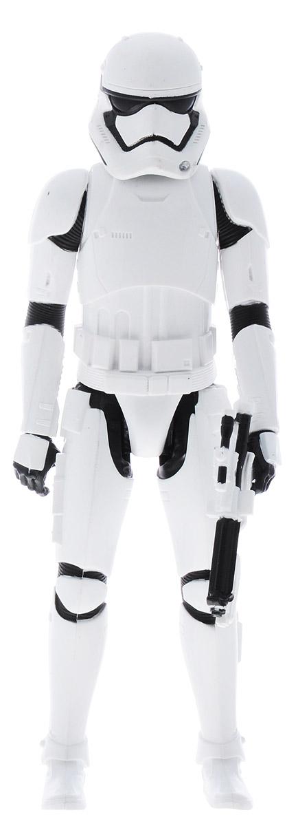 Star Wars Фигурка Stormtrooper B3912B3908_B3912Фигурка Star Wars Stormtrooper привлечет внимание любого поклонника знаменитой саги Звездные войны. Фигурка выполнена из прочного и высококачественного пластика в виде знаменитого героя Звездных войн, штурмовика Империи. Фигурка имеет 4 точки артикуляции - ее руки и ноги двигаются. В комплект входит бластер для победы в самых горячих звездных битвах. Ваш ребенок часами будет играть с этой фигуркой, придумывая различные истории. Высокое качество исполнения порадует маленьких и взрослых коллекционеров, и такая фигурка займет достойное место в любой коллекции. Порадуйте своего ребенка таким замечательным подарком!