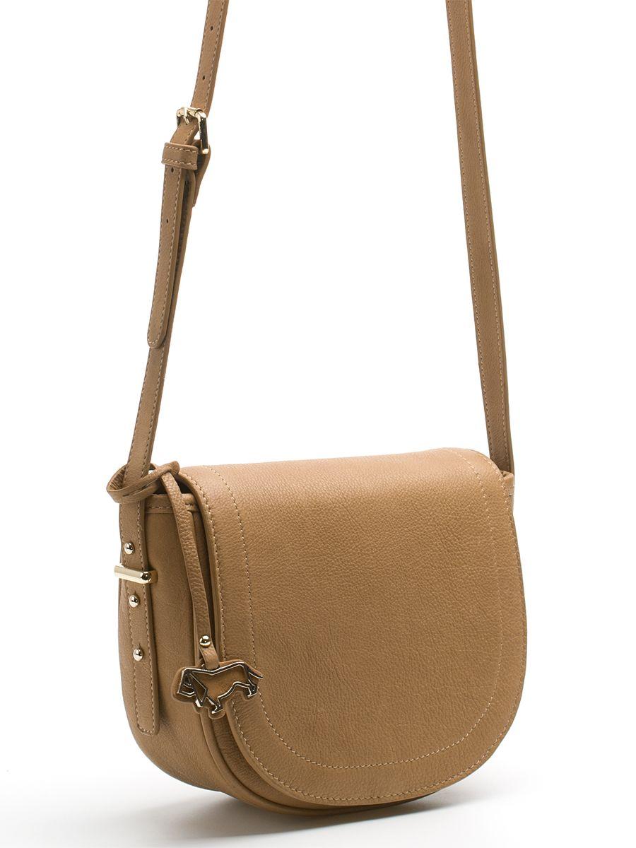 Сумка женская Labbra, цвет: светло-коричневый. L-FB303L-FB303Стильная женская сумка Labbra выполнена из натуральной кожи с зернистой фактурой, оформлена символикой бренда и декоративной подвеской. Изделие содержит одно вместительное отделение, закрывающееся на застежку-молнию и дополнительно клапаном на магнитную кнопку. Внутри сумки расположены накладной кармашек для мелочей и врезной карман на застежке-молнии. Задняя сторона сумки дополнена врезным карманом на молнии. Изделие оснащено практичным плечевым ремнем регулируемой длины. Оригинальный аксессуар позволит вам завершить образ и быть неотразимой.