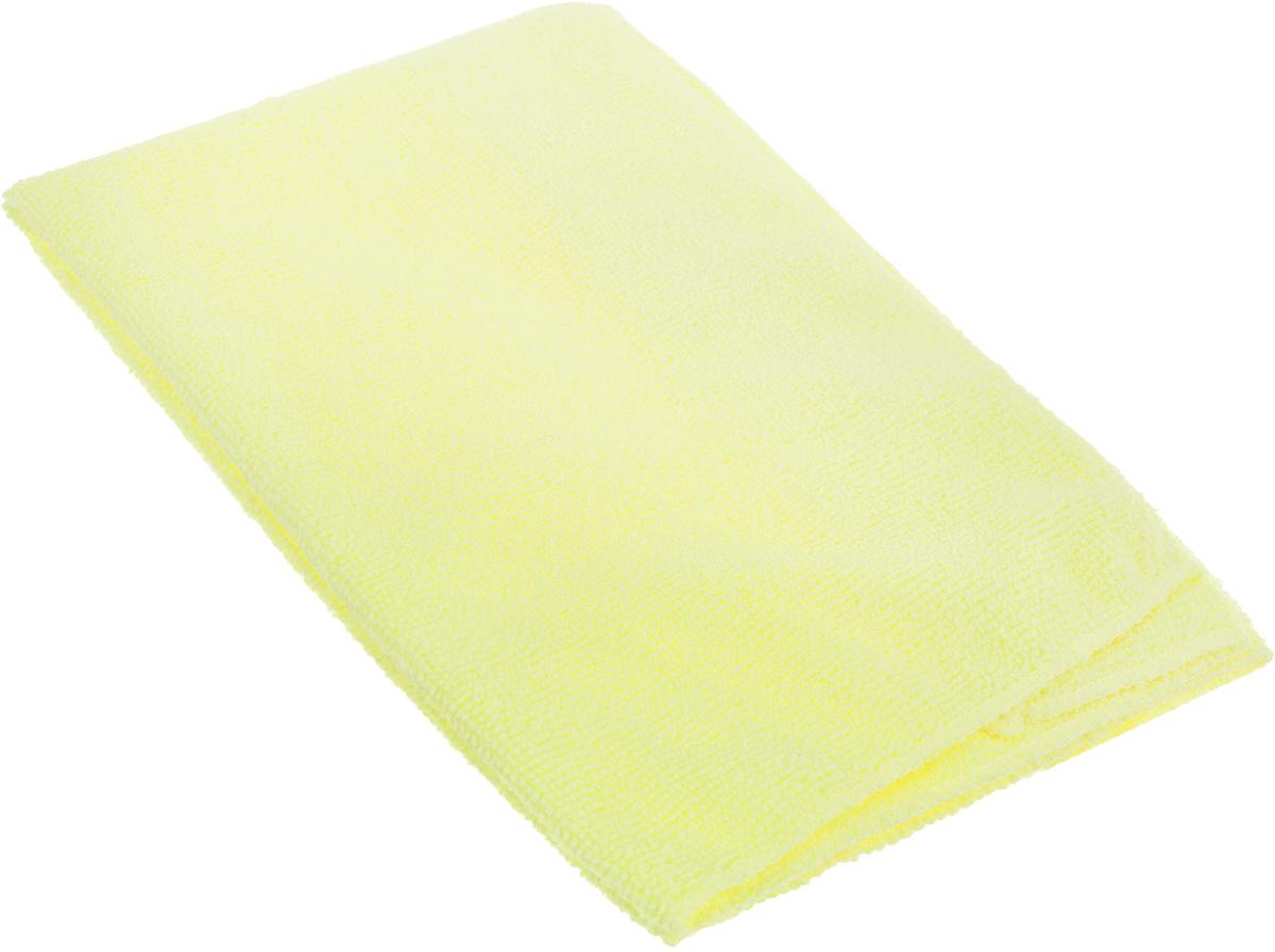 Тряпка для пола Eva, цвет: желтый, 50 х 40 смЕ7311_желтыйТряпка для пола Eva выполнена из микрофибры. Благодаря микроструктуре волокон она проникает в поры материалов и удаляет загрязнения без применения химических средств. Тряпка удерживает влагу, не оставляет разводов и ворса. Размер: 50 х 40 см.