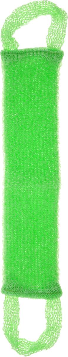 Мочалка вязаная Eva Букле, цвет: зеленый, 47 х 10 смМ39_зеленыйВязаная синтетическая мочалка Eva Букле, изготовленная из полипропилена, отлично очищает кожу и создает обильную пену. Она быстро сохнет, не требует ухода, существенно экономит моющее средство и имеет длительный срок службы. Размер мочалки (без учета ручек): 47 х 10 х 1 см. Длина мочалки (с учетом ручек): 64 см.