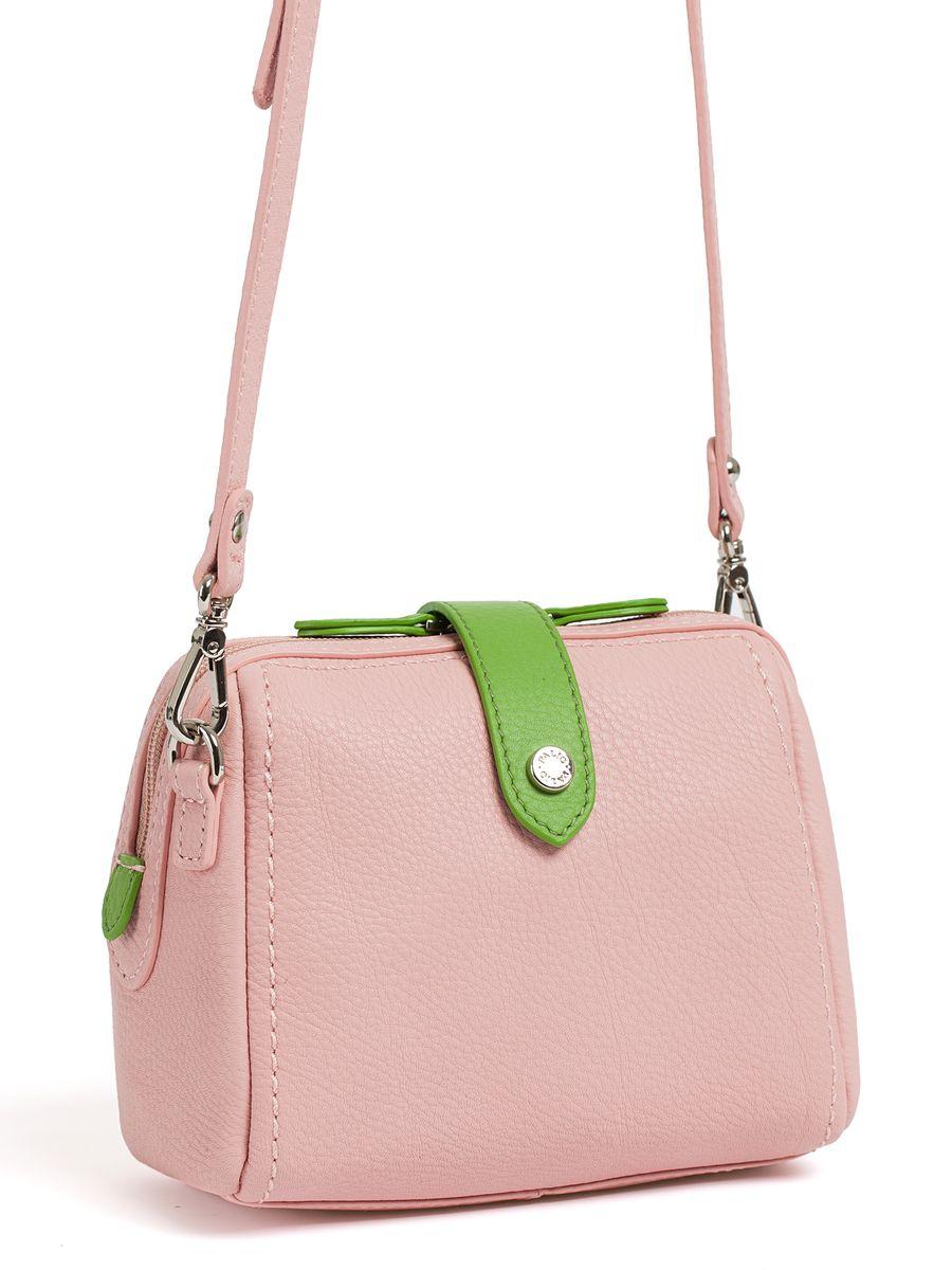 Сумка женская Palio, цвет: розовый, светло-зеленый. 12435AL-W112435AL-W1