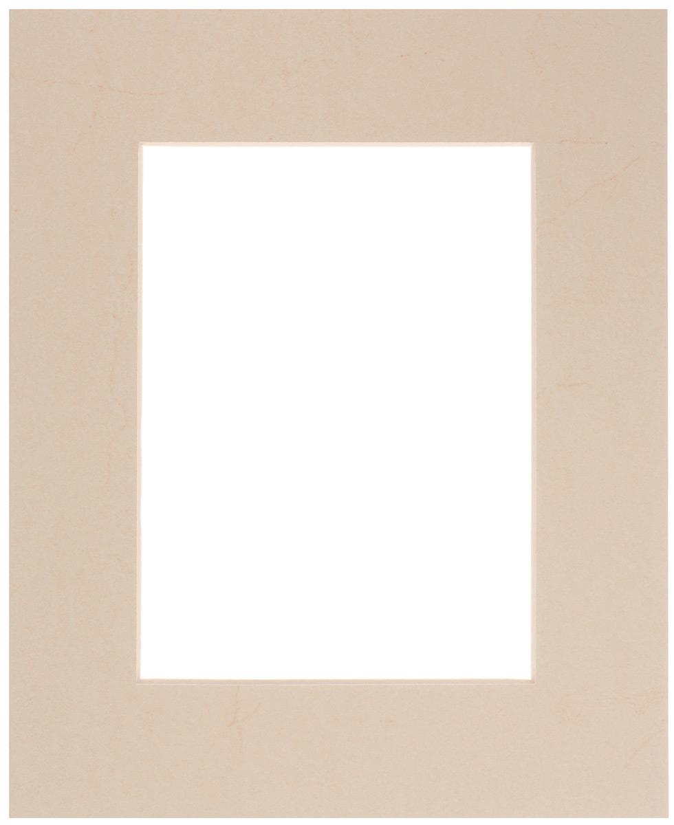 Паспарту Василиса, цвет: топленое молоко, 20 см х 24 см581219Паспарту Василиса, изготовленное из плотного картона, предназначено для оформления художественных работ и фотографий. Оно располагается между багетной рамой и изображением, делая акцент на фотографии, усиливая ее визуальное восприятие. Кроме того, на паспарту часто располагают поясняющие подписи, автограф изображенного. Внешний размер: 20 х 24 см. Внутренний размер: 12 х 16 см.