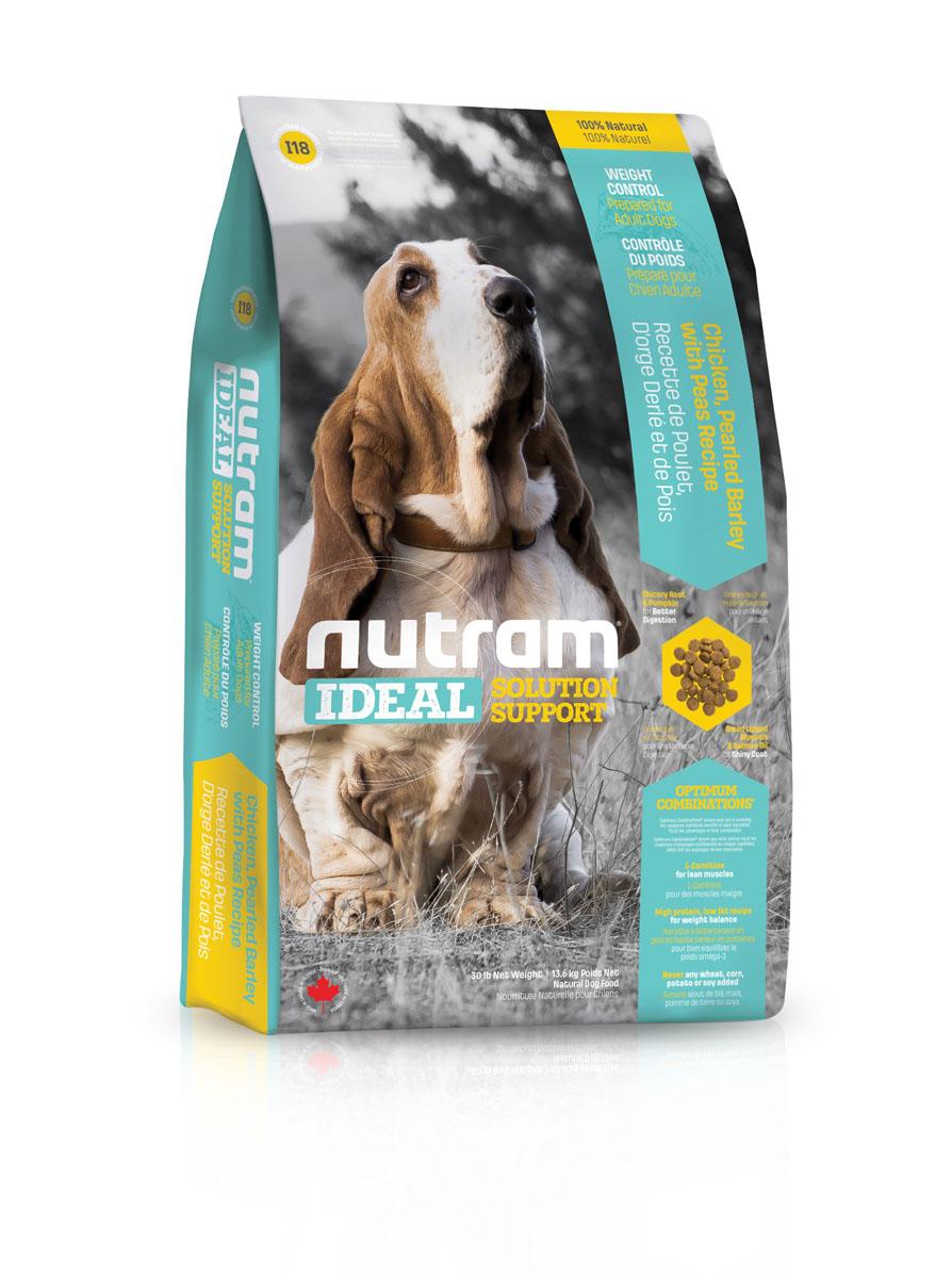 Сухой корм для собак контроль веса I18 Nutram Ideal Weight Control Dog - 13.6 КГ83106Целостный (holistic), полезный, богатый питательными веществами корм, который улучшает самочувствие и здоровье питомцев по принципу «изнутри наружу». Подход Nutram к целостному питанию начинается с улучшения пищеварения с помощью специальной комбинации тыквы и корня цикория. Корень цикория способствует увеличению количества природных кишечных бактерий. Богатая клетчаткой тыква помогает движению пищи по пищеварительному тракту, продлевая ощущение сытости, что имеет решающее значение для контроля за весом. Ингредиенты с низким содержанием жира и высоким содержанием белка, обеспечивают собак питательными веществами, необходимыми для естественного регулирования веса. Оптимальное Сочетание™ жира лососевых рыб и зеленых мидий - источников Омега-3 жирных кислот, оказывает противовоспалительное действие, повышая подвижность собаки. • Содержит мясо курицы, перловую крупу и клетчатку гороха • L-карнитин – для поддержки оптимальной мышечной массы • Высокое содержание белка для регулирования...
