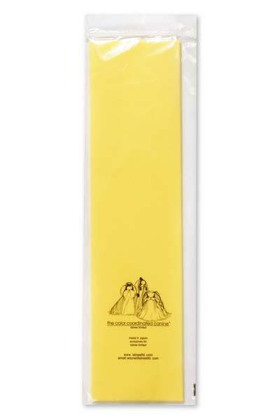 Бумага натуральная Lainee, цвет: желтая, 100 листовSWSYEFLainee (Лайни) бумага натуральная для папильоток. Натуральная рисовая бумага высшего качества. Очень тонкая, очень прочная. Прекрасно подходит для накручивания папильоток на корпусе и на голове собаки. Размер листа 39х10 см, в упаковке 100 листов. Цвет желтый. С помощью папильоток осуществляется защита длинного остевого волоса от сечения и механического повреждения у длиношерстных декоративных пород собак.