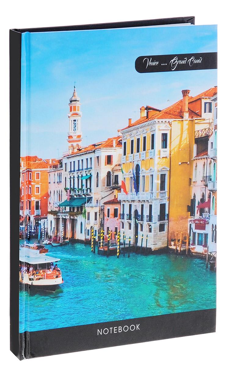 Listoff Записная книжка Солнечная Венеция 100 листов в клеткуКЗ51001734Записная книжка Listoff Солнечная Венеция - незаменимый атрибут современного человека, необходимый для рабочих и повседневных записей в офисе и дома. Плотная обложка из картона дает возможность делать заметки на ходу. Глянцевая ламинация обложки придает лоск и подчеркивает уникальный дизайн. Записная книжка содержит 1000 листов в клетку. Внутренний блок прошит, что гарантирует отсутствие потерю листов при активном использовании. Записная книжка Listoff Солнечная Венеция пригодится как для деловых людей, так и для любителей записывать свои мысли, писать мемуары или делать наброски новых стихотворений.