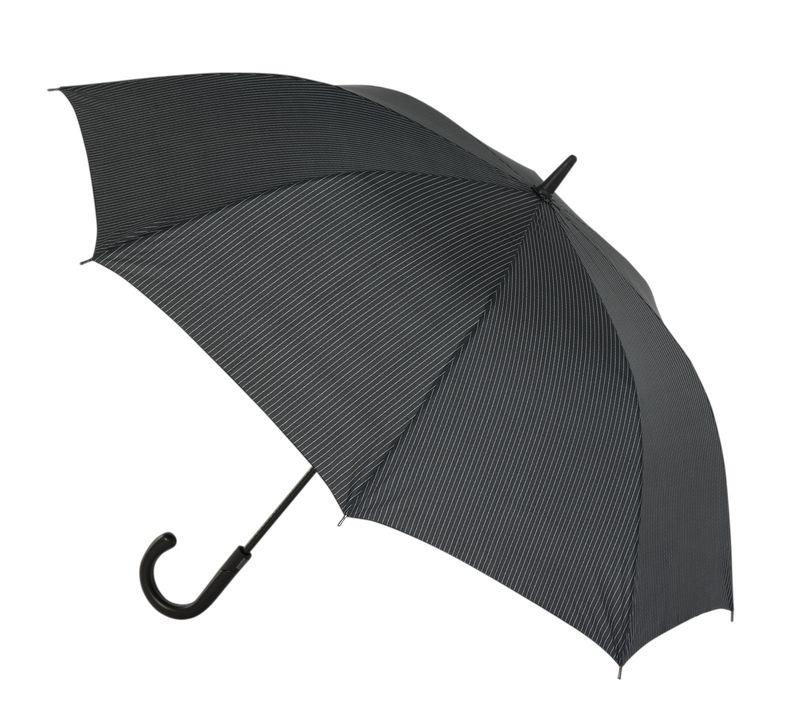 Зонт мужской Eleganzza, полуавтомат, 3 сложения, цвет: черный. T-03-F687T-03-F687Мужской зонт-трость торговой марки ELEGANZZA. Купол: 100% полиэстер, эпонж. Материал каркаса: карбон + фиберголасс. Материал ручки: кожа. Длина изделия - 92 см. Диаметр купола - 117 см.