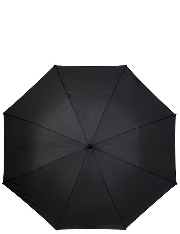 Зонт мужской Eleganzza, полуавтомат, 3 сложения, цвет: черный. T-05-0400T-05-0400Мужсккой зонт-трость ELEGANZZA. Материал купола 100% полиэстер. Материал каркаса: сталь + фибергласс. Материал ручки: искусственная кожа. Длина изделия - 92 см. Диаметр купола - 117 см.