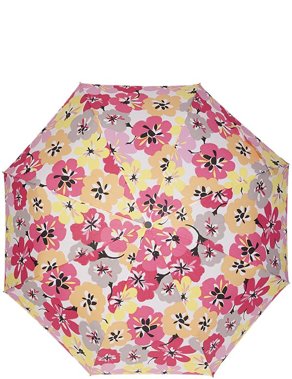 Зонт женский Labbra, автомат, 3 сложения, цвет: желтый. A3-05-006A3-05-006Женский зонт-автомат LABBRA. Материал купола 100% полиэстер, эпонж. Материал каркаса: сталь + фибергласс. Материал ручки: пластик. Длина изделия - 29 см, диаметр купола - 105 см.