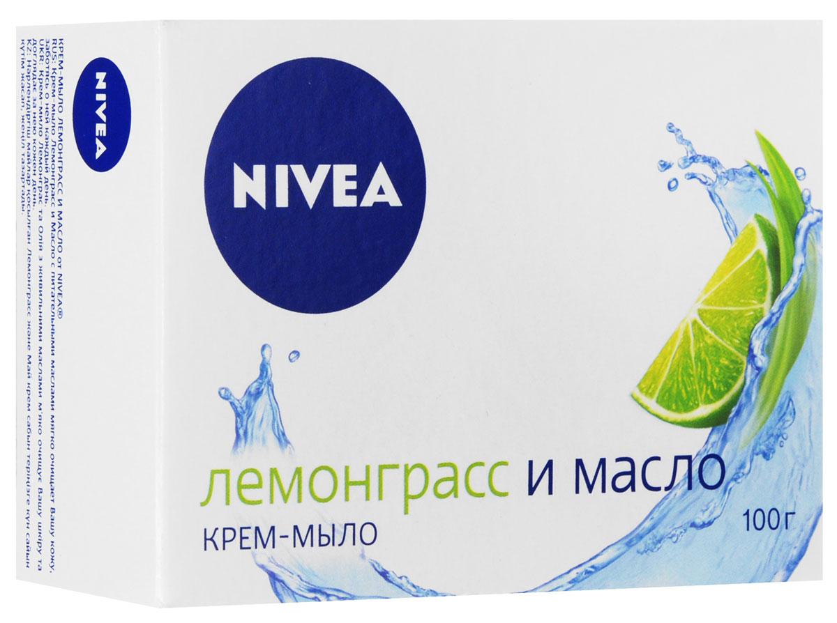 NIVEA Крем-мыло Лемонграсс и масло 100 гр (Nivea)