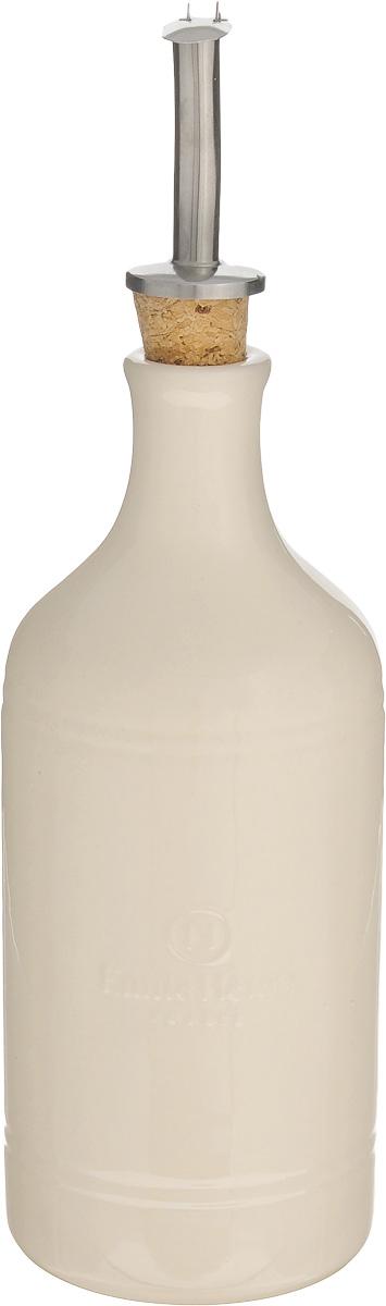 Бутылка для масла и уксуса Emile Henry, 450 мл20215Бутылка Emile Henry, выполненная из керамики, предназначена для хранения масла или уксуса. Сочные краски и оригинальный дизайн этой бутылки станут ярким пятном на вашей кухонной полке. Вы нальете ровно столько масла, сколько нужно, не уронив ни одной лишней капли, ведь крышка с носиком снабжена специальным клапаном. Стенки бутылки светонепроницаемые, поэтому ее можно хранить в открытом шкафу, не волнуясь, что ваше лучшее оливковое масло потеряет вкус и аромат. Высота бутылки (с учетом крышки): 24,5 см. Диаметр основания: 7,5 см. Диаметр бутылки (по верхнему краю): 3 см.