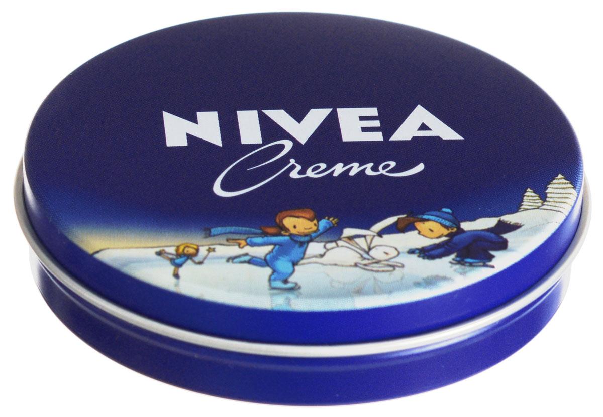 Nivea крем для кожи Nivea Creme, увлажняющий, универсальный, 30 мл10011105NIVEA Creme - универсальный увлажняющий крем. Благодаря уникальной формуле с эвцеритом, пантенолом и глицерином, крем прекрасно увлажняет, питает и бережно ухаживает за кожей тела, особенно за ее сухими участками. NIVEA Creme не содержит консервантов и поэтому подходит даже для нежной детской кожи. Продукт одобрен дерматологами. Товар сертифицирован.