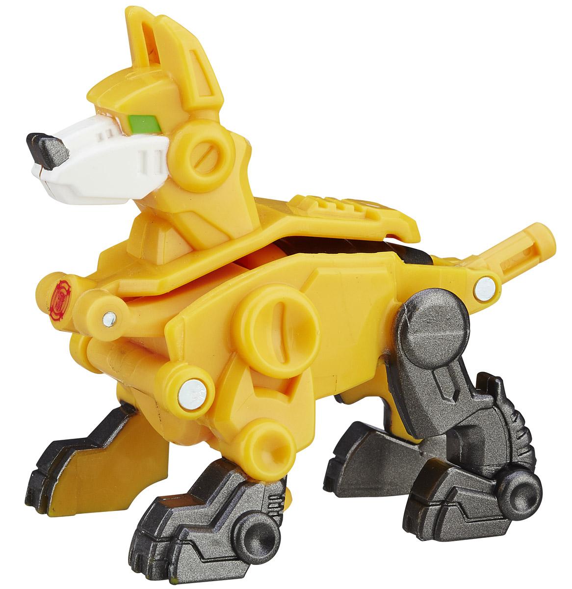 Playskool Heroes Трансформер ServoB4954EU4Трансформер Playskool Heroes Servo станет отличным подарком каждому поклоннику вселенной трансформеров. Игрушка выполнена в виде героя мультсериала Трансформеры. Роботы-спасатели Servo. Игрушка имеет две формы: собаки и бура. Трансформирование осуществляется в два шага. Соберите всю коллекцию роботов-спасателей!