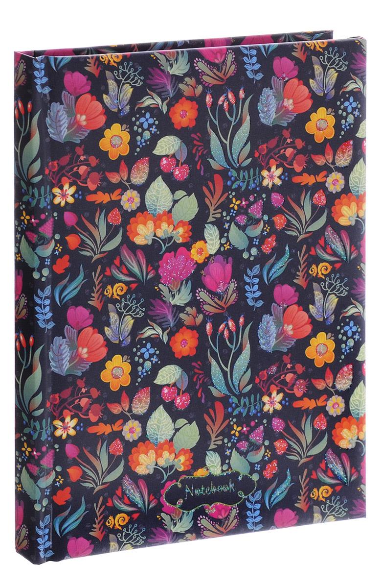 Listoff Записная книжка Сказочные цветы 48 листов в линейкуКЗБ6481769Записная книжка Listoff Сказочные цветы - необходимый аксессуар современного человека, необходимый для повседневных записей. Записная книжка содержит 48 листов формата А6 в линейку без полей. На обложке, выполненной из плотного картона с поролоновой подкладкой, изображен нежный рисунок в виде цветов. Внутренний блок изготовлен из высококачественной бумаги розового цвета. Книга для записей станет достойным атрибутом среди ваших канцелярских принадлежностей. Она подойдет для любителей записывать свои мысли, рисовать скетчи, делать наброски.