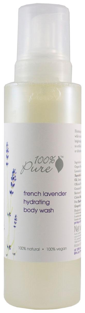 100% Pure Пенка для душа Французская лаванда 502 мл