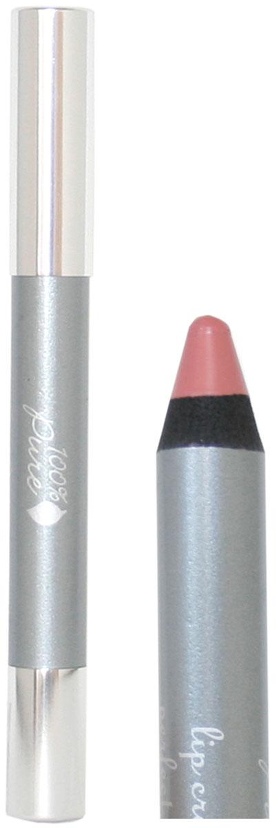 100% Pure Карандаш для губ: Розовый (средний тон розового) 3,3 г1CLPPNPВсе наши карандаши обладают сливочной текстурой. Они такие нежные,что не вредят коже губ. Они окрашены натуральными фруктовыми пигментами и долго держатся на губах. Используйте карадаши чтобы корректировать форму губ или придать губам насыщенный естественный оттенок, а также как основу для помады, чтобы она дольше держалась на губах. Если вы хотите придать губам больше блеска, нанести блеск для губ поверх карандаша. Не содержат свинец, синтетические химические вещества, искусственные отдушки, консерванты и ГМО.
