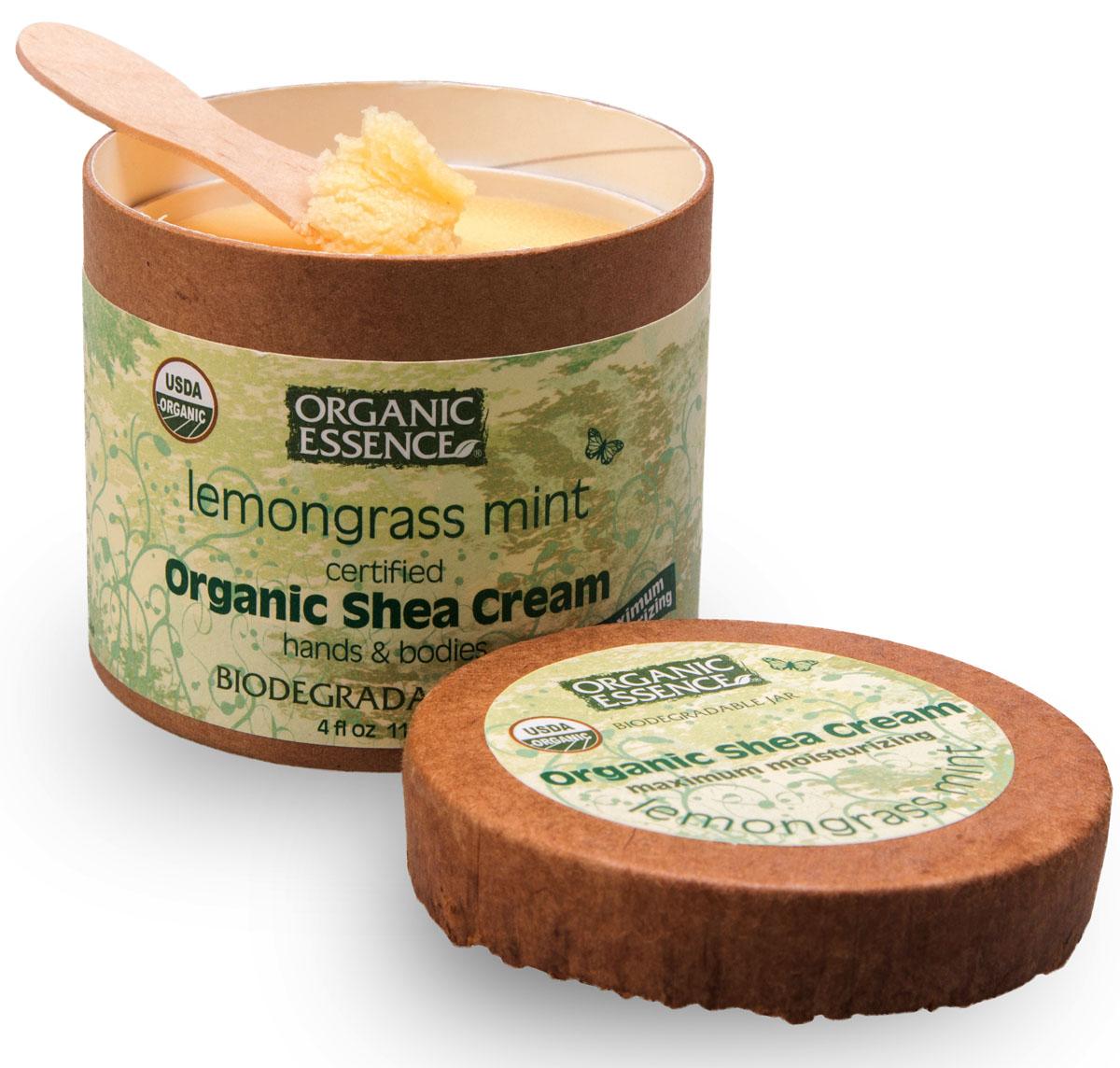 Organic Essence Органический крем Ши (Карите), Лемонгасс и мята 114 г/118 млCCLEMUSDA Organic сертифицированный продукт. Интенсивное увлажнение. Подходит для ежедневного применения. В состав Органического крема Ши входит масло лимонника известно как эффективное тонизирующее средство для кожи, естественно расширяющее периферические кровеносные сосуды, стягивающее поры, сглаживающее морщины. В масле лимонника содержится очень много биологически активных веществ. Этот ценный природный продукт, который способствует усилению умственной и физической активности. Масло лимонника способствует концентрации внимания, улучшает память, повышает работоспособность, адаптирует к внешним условиям. Лимонник – природный тоник и антидепрессант. Органическое масло мяты подходит для ухода за жирной и раздраженной кожей. При воспалительных процессах на коже, сосудистой сетке, угревой сыпи, а также синяках и отеках используйте органический крем Ши Лемонграсс и Мята. Наслаждайтесь сиянием молодости.