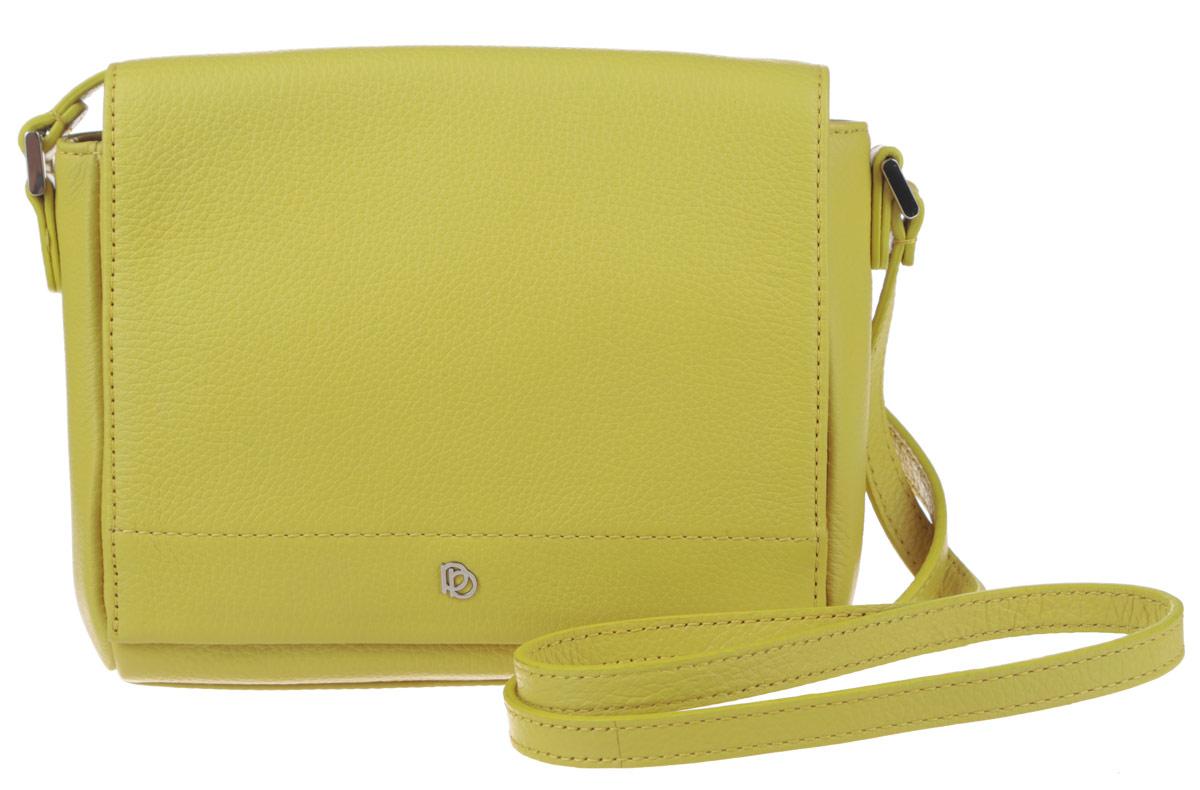 Сумка женская Pimo Betti, цвет: желтый. 14592B-W114592B-W1Стильная женская сумка Pimo Betti выполнена из натуральной кожи с зернистой фактурой, оформлена металлической фурнитурой с символикой бренда. Изделие содержит одно вместительное отделение, закрывающееся клапаном на магнитную кнопку. Внутри сумки расположены накладной кармашек для мелочей и врезной карман на застежке-молнии. Снаружи, на задней стороне сумки, расположен накладной кармашек на магнитной кнопке. Изделие оснащено практичным плечевым ремнем регулируемой длины. Оригинальный аксессуар позволит вам завершить образ и быть неотразимой.