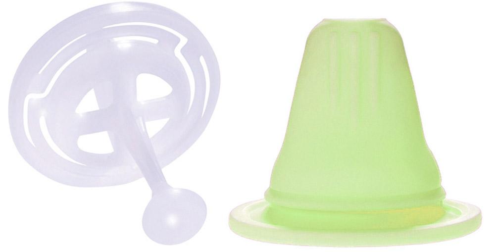 MAM Соска-насадка цвет салатовый