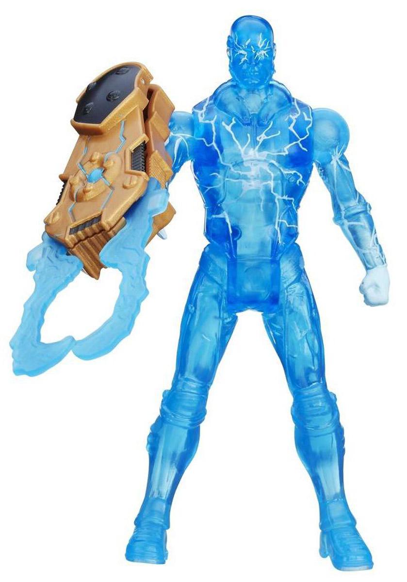Spider-Man Фигурка ElectroA5700_A8976Фигурка Spider-Man Electro станет прекрасным подарком для вашего ребенка. Она выполнена из прочного яркого пластика в виде суперзлодея Электро - врага Человека-паука. Голова, руки и ноги фигурки подвижны, что позволит придавать Электро различные позы. В комплект также входит его грозное оружие на магните. Ваш ребенок будет часами играть с фигуркой Электро, придумывая различные истории с участием этого героя.
