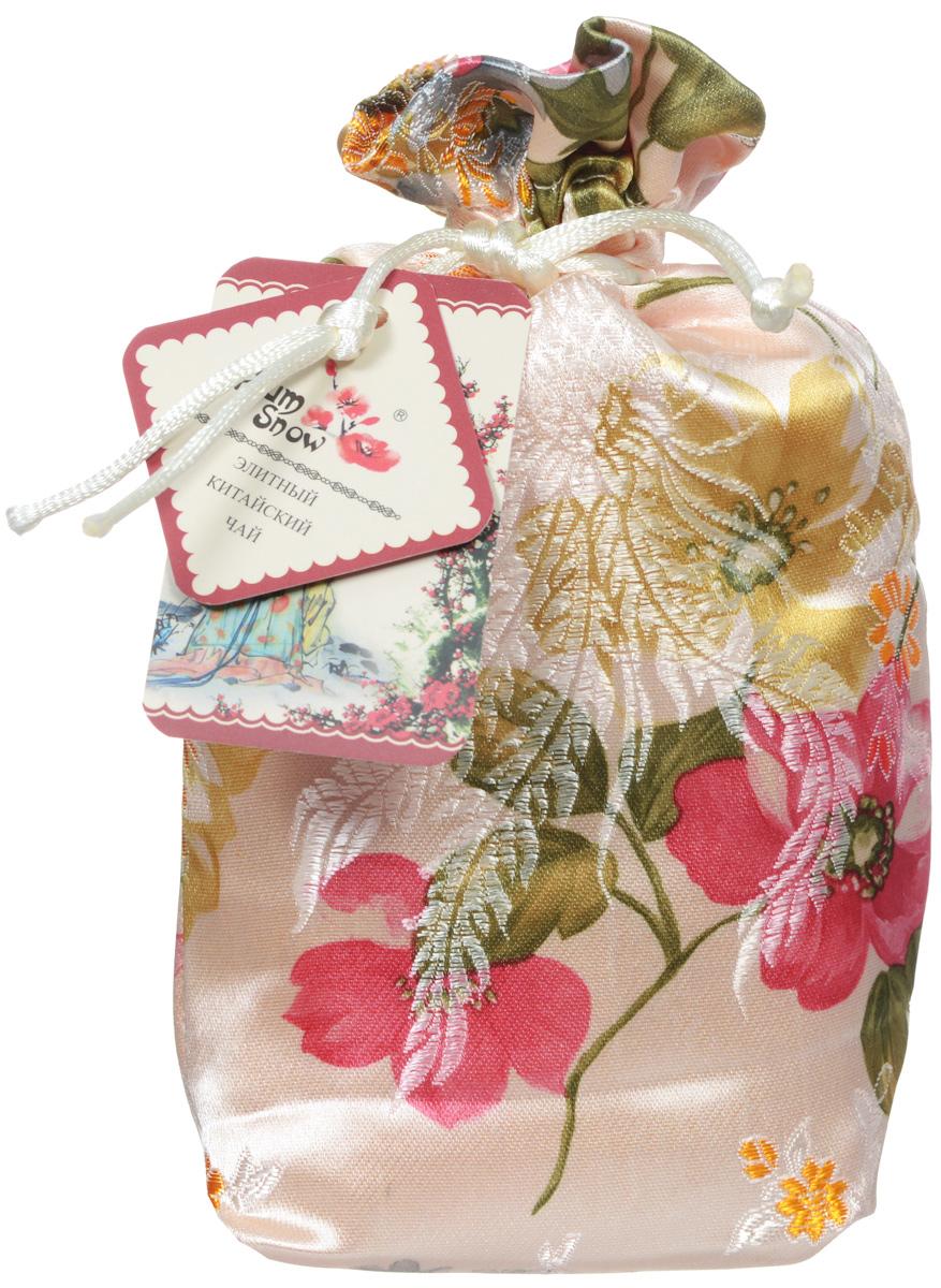 Plum Snow Молочный пуэр мини точа черный листовой чай, 100 г (шелковый мешок)PS306Plum Snow Молочный пуэр мини точа - байховый китайский крупнолистовой чай со сливками, спрессованный в форме сердечка.