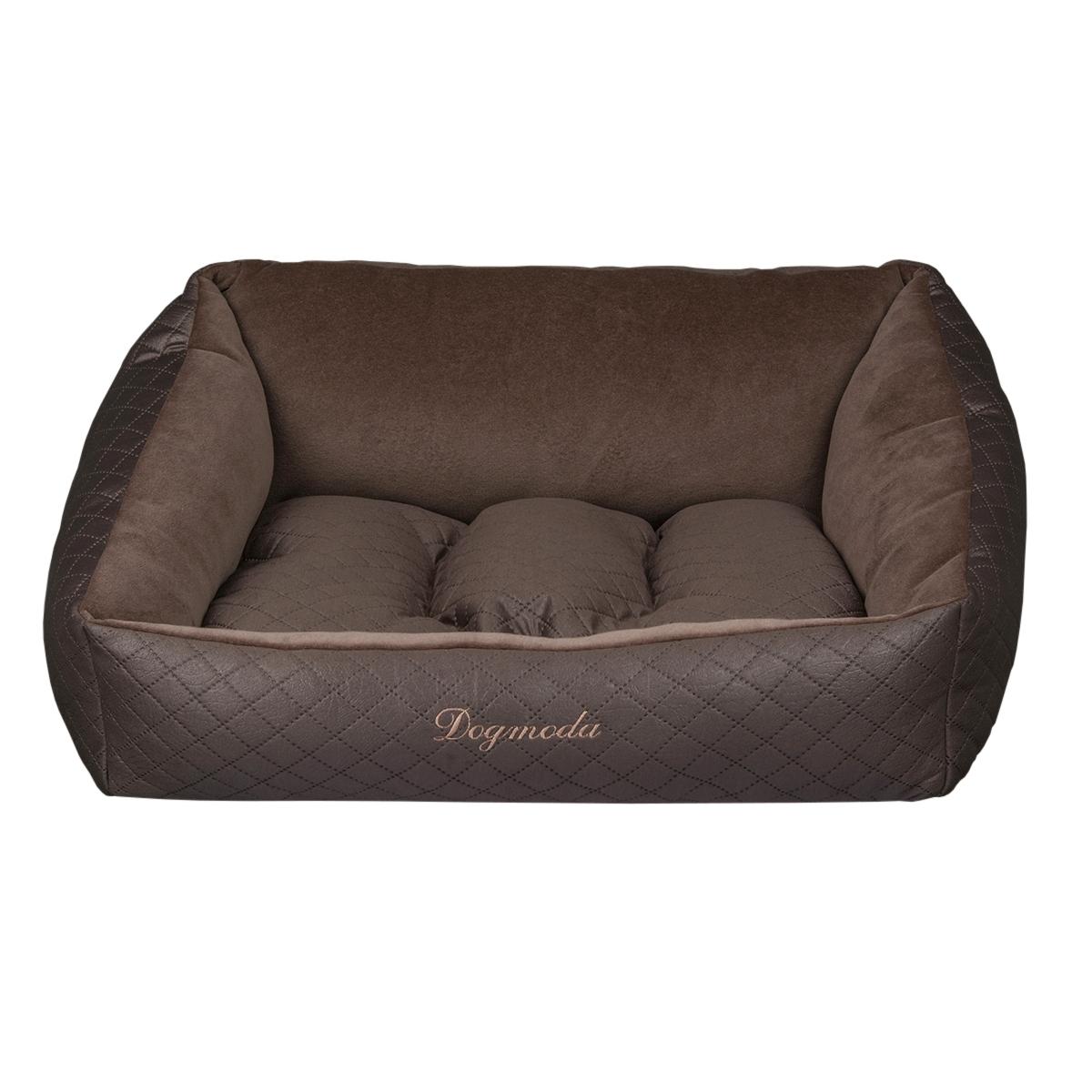 Лежак Dogmoda Шоколад-1 для собакиDM-160113-1Роскошный, уютный и стильный лежак Шоколад станет излюбленным местом отдыха для Вашего питомца.