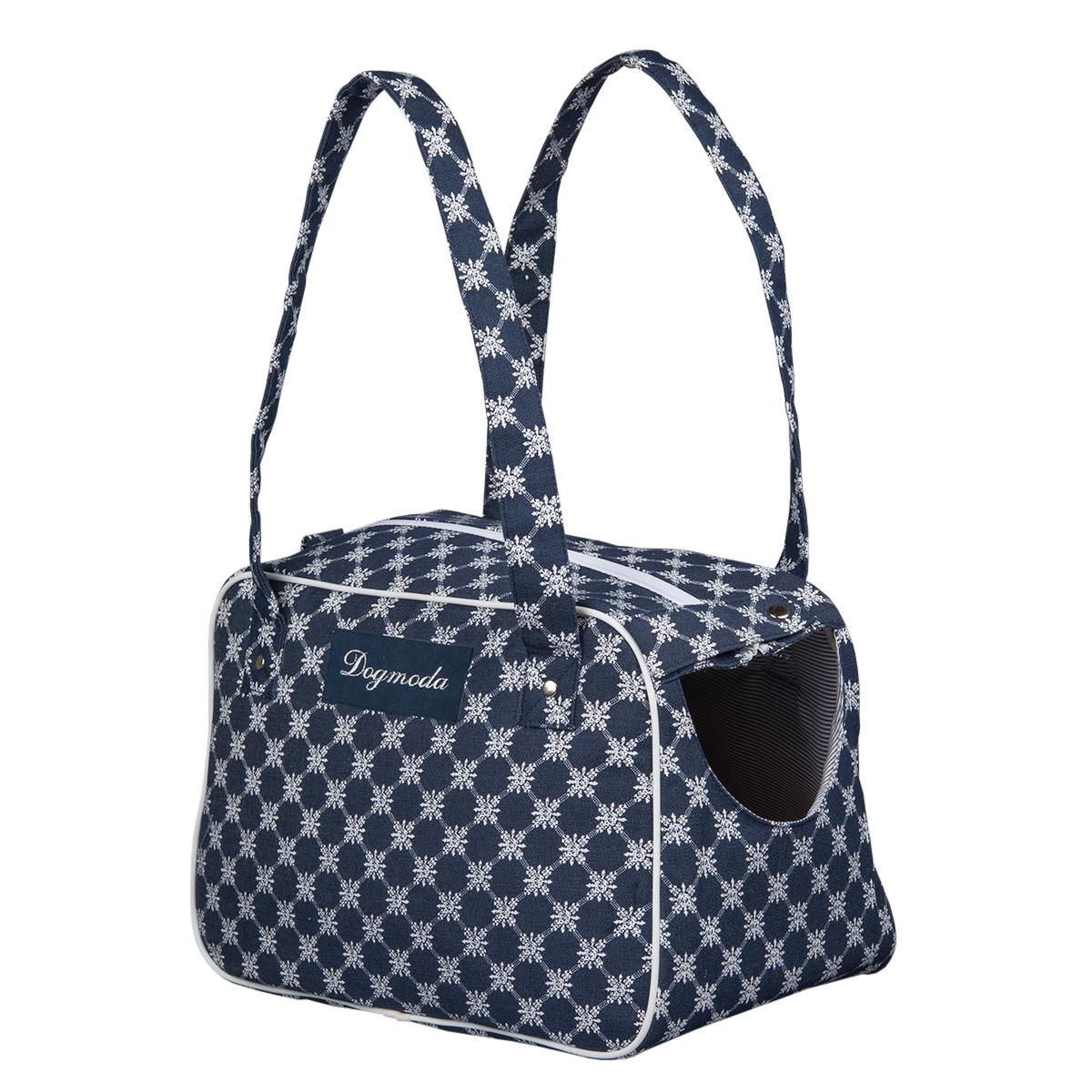 Сумка-переноска Dogmoda Сезон для собакиDM-160117Встречайте весну модно - эта стильная и удобная сумка-переноска из специальной износостойкой сумойчной ткани будет радовать и Вас, и Вашего любимца.