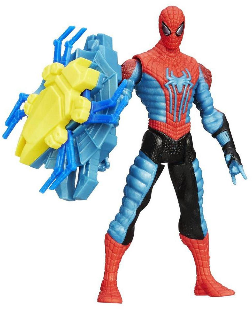 Spider-Man Фигурка Spider-Man Web ShieldA5700_A8975Фигурка Spider-Man Web Shield привлечет внимание любого мальчика. Фигурка выполнена из прочного высококачественного пластика в виде знаменитого супергероя Человека-паука. В комплект входит аксессуар на магните - Web Shield. Человек-Паук с легкостью возьмет его в свою руку и отправится по игрушечному городу на помощь жителям, а управлять им будете, конечно, вы. Порадуйте своего ребенка таким необычным подарком!