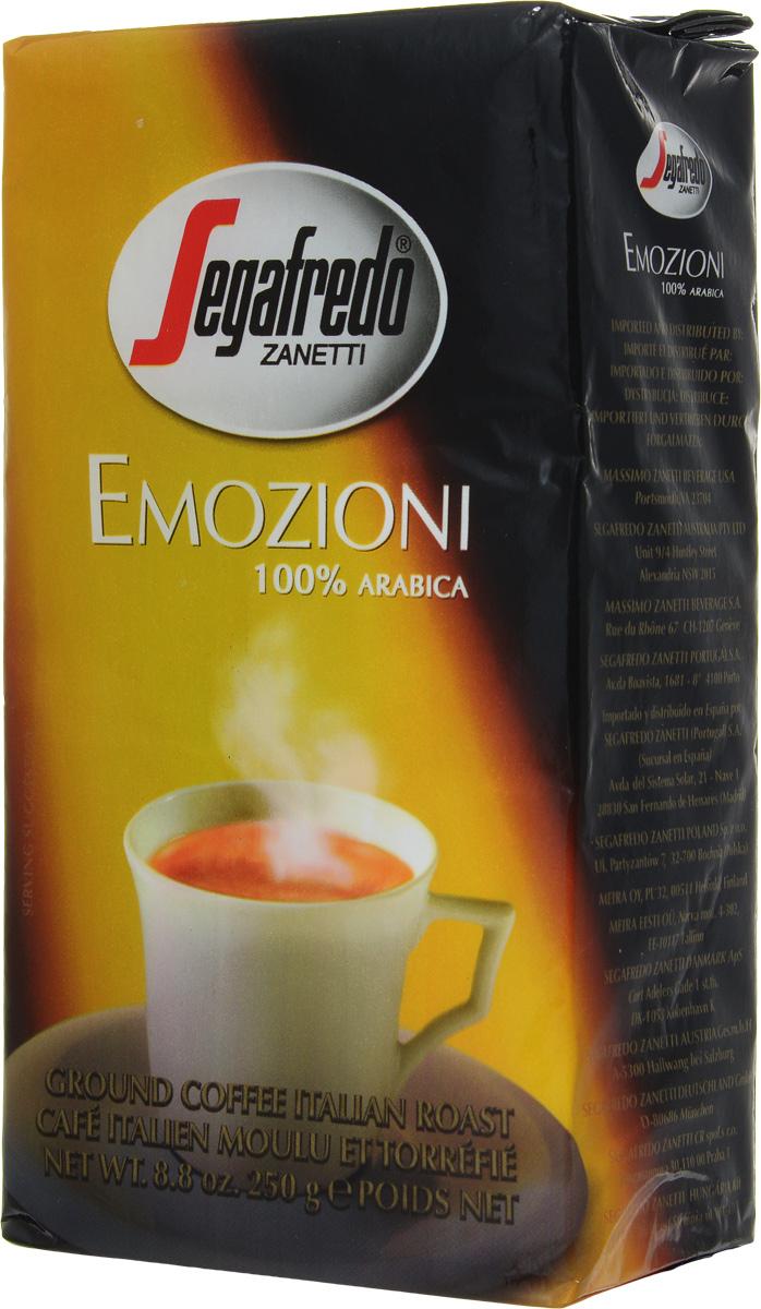 Segafredo Emozioni кофе молотый, 250 г401.001.003Segafredo Emozioni - это несравненно яркий аромат, полный вкус и приятное послевкусие 100 % Арабики. С данным видом кофе можно испытать истинное удовольствие и яркие эмоции. Подходит для отдыха во время перерыва на работе или для дружеской беседы с друзьями во время выходных. Segafredo Emozioni является любимой маркой кофе во Франции и Италии.