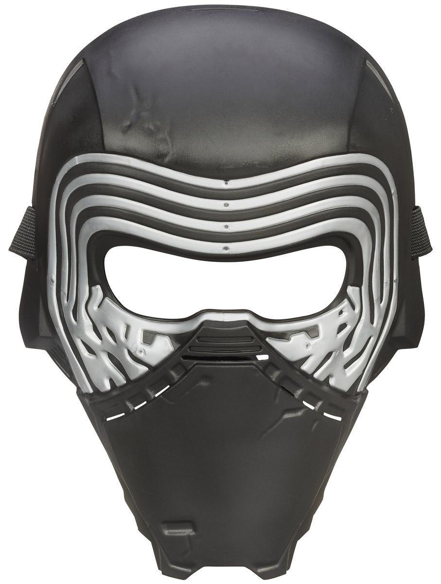 Star Wars Маска Kylo RenB3223_B3224Маска Star Wars Kylo Ren позволяет преобразиться в главного злодея Кайло Рена из фильма Звездные войны. Маска выполнена из пластика черного цвета с прорезями для глаз. Закрепляется на голове при помощи эластичного ремешка, регулируемого по длине. Такая маска непременно понравится поклоннику Звездных войн и станет для него замечательным подарком.