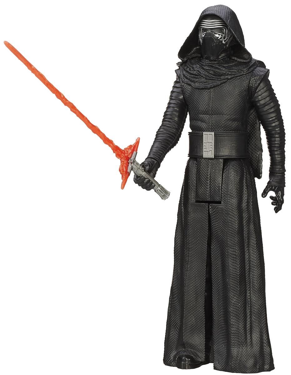 Star Wars Фигурка Kylo Ren высота 29 смB3908_B3911Фигурка Star Wars Kylo Ren выполнена в виде культового персонажа фантастической киноэпопеи Звездные Войны. Игрушка изготовлена из качественного пластика, имеет подвижные части. К фигурке прилагается оружие. Фигурка понравится как детям, так и взрослым коллекционерам, она станет отличным сувениром или займет достойное место в коллекции любого поклонника знаменитой космической саги.