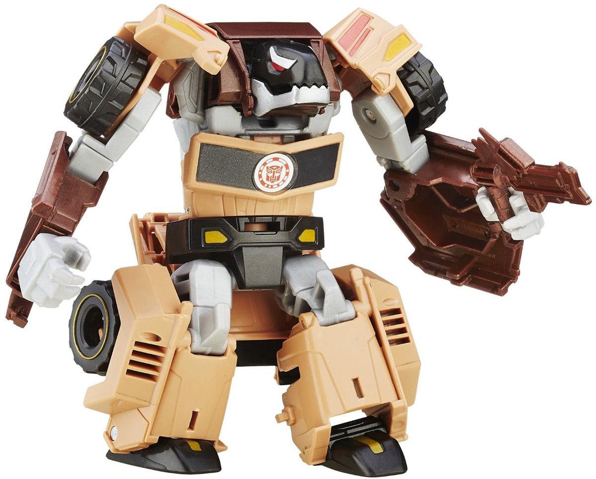 Transformers Трансформер QuillfireB0070_B5597Трансформер Quillfire обязательно понравится любому маленькому поклоннику знаменитых Трансформеров! Игрушка выполнена из прочного пластика в виде трансформера-автобота. Руки и ноги робота подвижны. В несколько простых шагов малыш сможет трансформировать фигурку робота в мощный автомобиль. Фигурка отличается высокой степенью детализации. Ребенок с удовольствием будет играть с фигуркой, придумывая различные истории. Порадуйте его таким замечательным подарком!