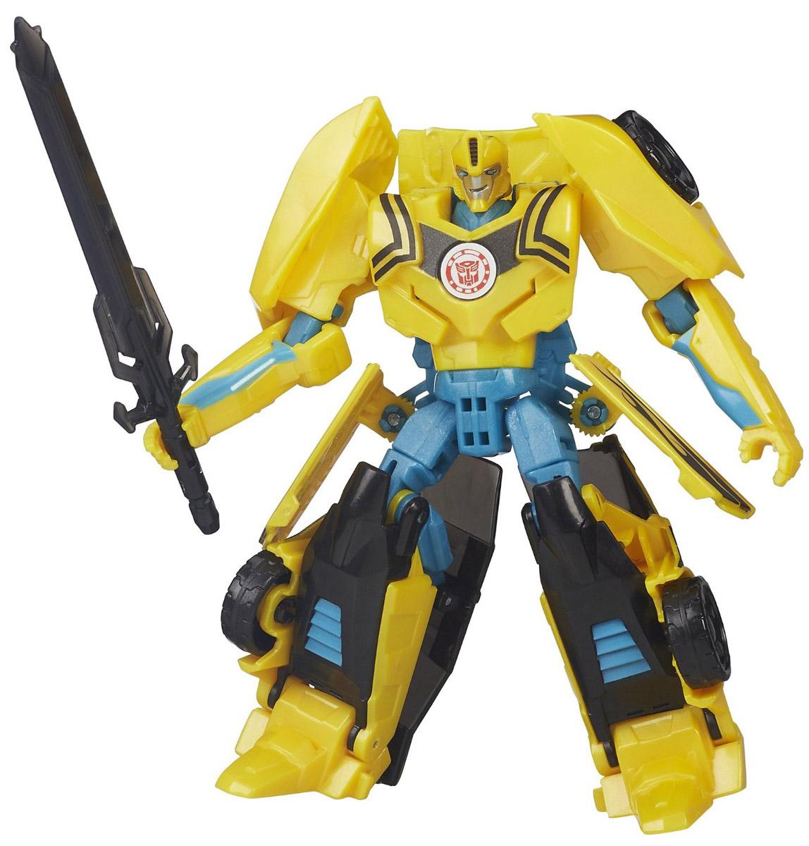 Transformers Трансформер Night Strike BumblebeeB0070_B4688Трансформер Night Strike Bumblebee обязательно понравится любому маленькому поклоннику знаменитых Трансформеров! Игрушка выполнена из прочного пластика в виде трансформера-автобота Бамблби. Руки и ноги робота подвижны. В несколько простых шагов малыш сможет трансформировать фигурку робота в мощный гоночный автомобиль. Фигурка отличается высокой степенью детализации. Ребенок с удовольствием будет играть с фигуркой, придумывая различные истории. Порадуйте его таким замечательным подарком!