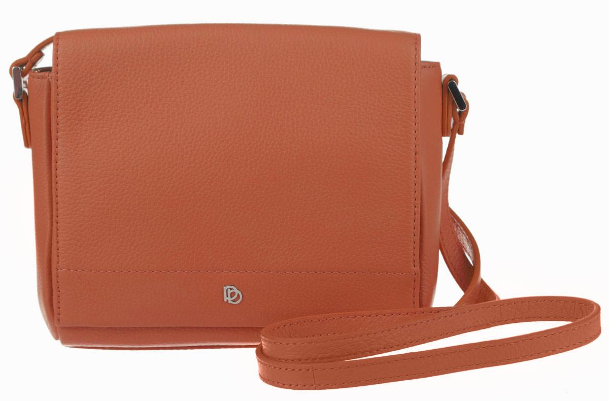 Сумка женская Pimo Betti, цвет: рыжий. 14592B-W114592B-W1Стильная женская сумка Pimo Betti выполнена из натуральной кожи с зернистой фактурой, оформлена металлической фурнитурой с символикой бренда. Изделие содержит одно вместительное отделение, закрывающееся клапаном на магнитную кнопку. Внутри сумки расположены накладной кармашек для мелочей и врезной карман на застежке-молнии. Снаружи, на задней стороне сумки, расположен накладной кармашек на магнитной кнопке. Изделие оснащено практичным плечевым ремнем регулируемой длины. Оригинальный аксессуар позволит вам завершить образ и быть неотразимой.