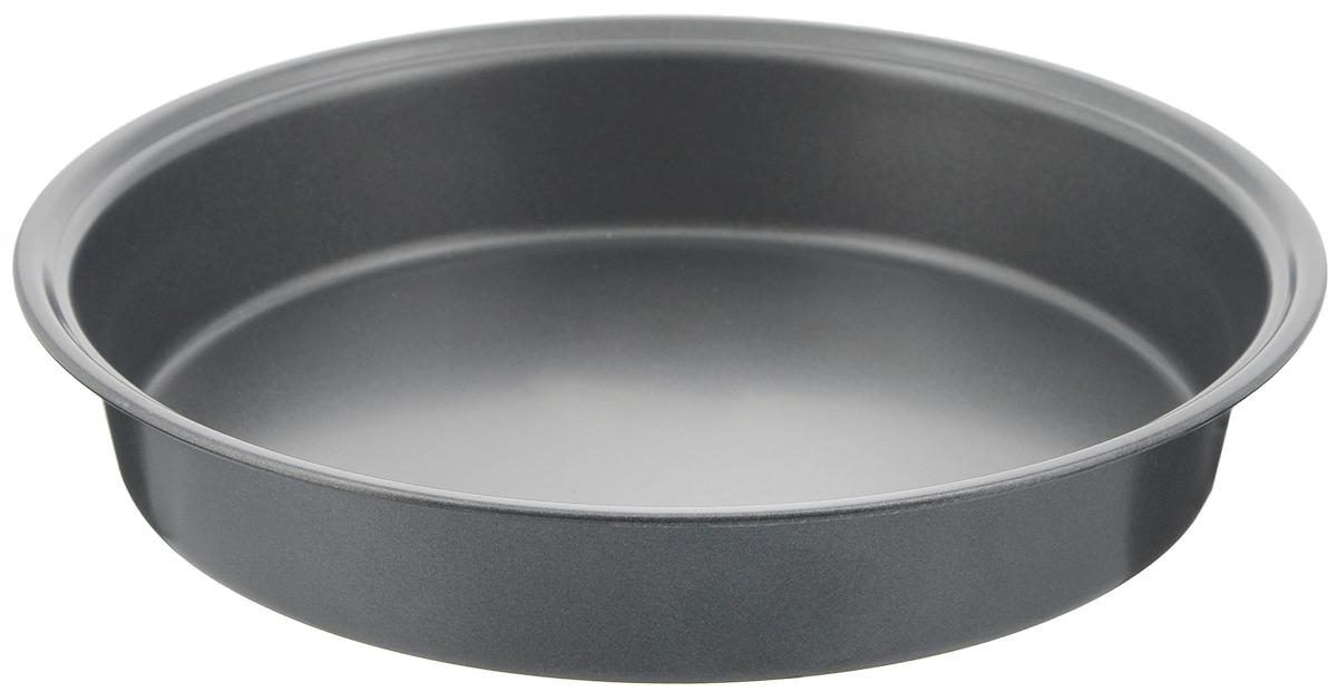 Форма для выпечки Bekker Koch, круглая, с антипригарным покрытием, диаметр 24,5 смBK-3956Круглая форма для выпечки Bekker Koch изготовлена из углеродистой стали с антипригарным покрытием Goldflon. Выпечка не пригорает и не прилипает к поверхности и легко моется. Такая форма идеально подходит для приготовления различных пирогов и кексов. Можно мыть в посудомоечной машине. Диаметр (по верхнему краю): 24,5 см. Высота формы: 4,4 см.