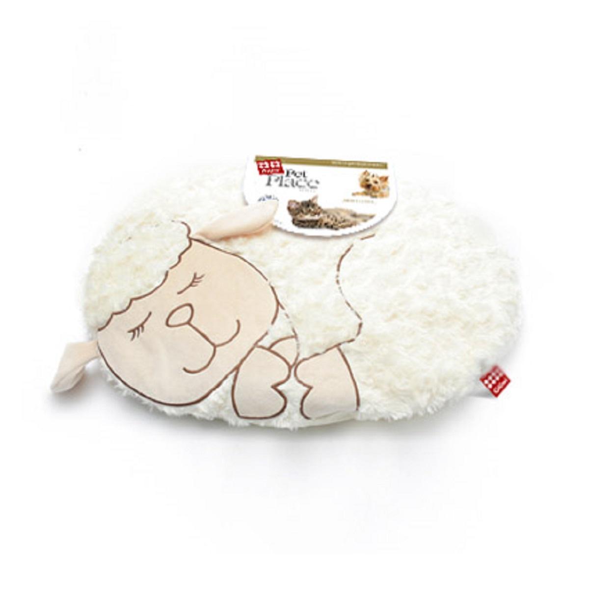 Лежанка с дизайном GiGwi Овечка 57 см75114GiGwi Лежанка с дизайном Овечка 57 см Лежанка для небольших собак и кошек. Наполнитель полиэстер. Машинная стирка.
