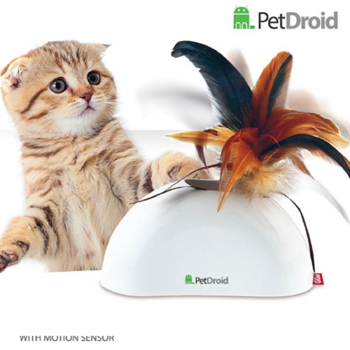 Электронная игрушка для кошек GiGwi Pet Droid Фезер Хайдер75311Игрушка для кошки. Интерактивная игрушка с звуковым чипом. Сменые насадки, 2 датчика движения. При касании лапами игрушка издает звуки похожие на чириканье птиц. Хвостик из натуральных перьев выскакивает, из корпуса игрушки, что очень забавляет питомца. Игрушка активируется автоматически при при подходе к ней животного, благодаря встроенным датчикам движения. Возможность использование в вертикальном и горизонтальном положении. Крепеж в комплекте для крепления в вертикальном положении Работает от 2 батареек АА Батарейки в комплект не входят Сменная верхушка из перьев Размер 15 см.