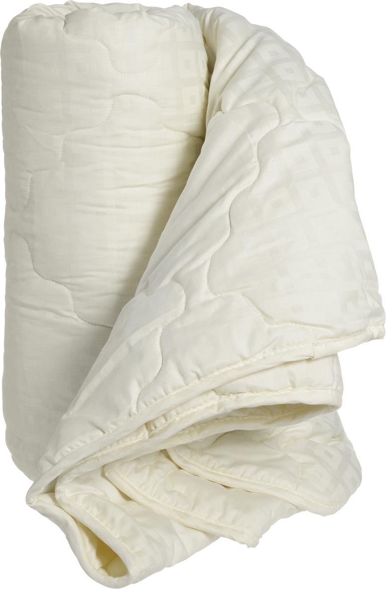 Натурес Одеяло детское Золотой мерино 140 см х 205 смЗМ-О-3-3Всесезонное одеяло с натуральной овечьей шерстью отлично подойдет для детей и подростков. В качестве наполнителя используется шерсть мериносовой овцы, знаменитая своими согревающими свойствами. Благодаря высокой гигроскопичности (способности впитывать влагу) овечья шерсть обладает эффектом сухого тепла и широко применяется для профилактики простудных заболеваний. Чехол выполнен из натурального светло-бежевого хлопка. Все эти составляющие позволяют одеялу благотворно влиять на дыхательную систему и, благодаря превосходной терморегуляции, дарить спокойный сон вашему малышу каждую ночь. Уход: стирка при 30° C.
