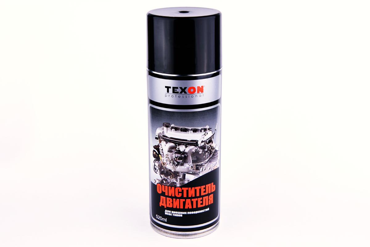 Очиститель двигателя TEXON 520 млPL0129Очиститель двигателя предназначен для очистки внешних поверхностей двигателей всех видов транспортных средств от масляных, жировых, смолистых загрязнений, смешанных с дорожной пылью, также применяется для очистки тормозов. Средство обладает эффективным моющим и очищающим действием, удаляет пролитые масла всех видов.