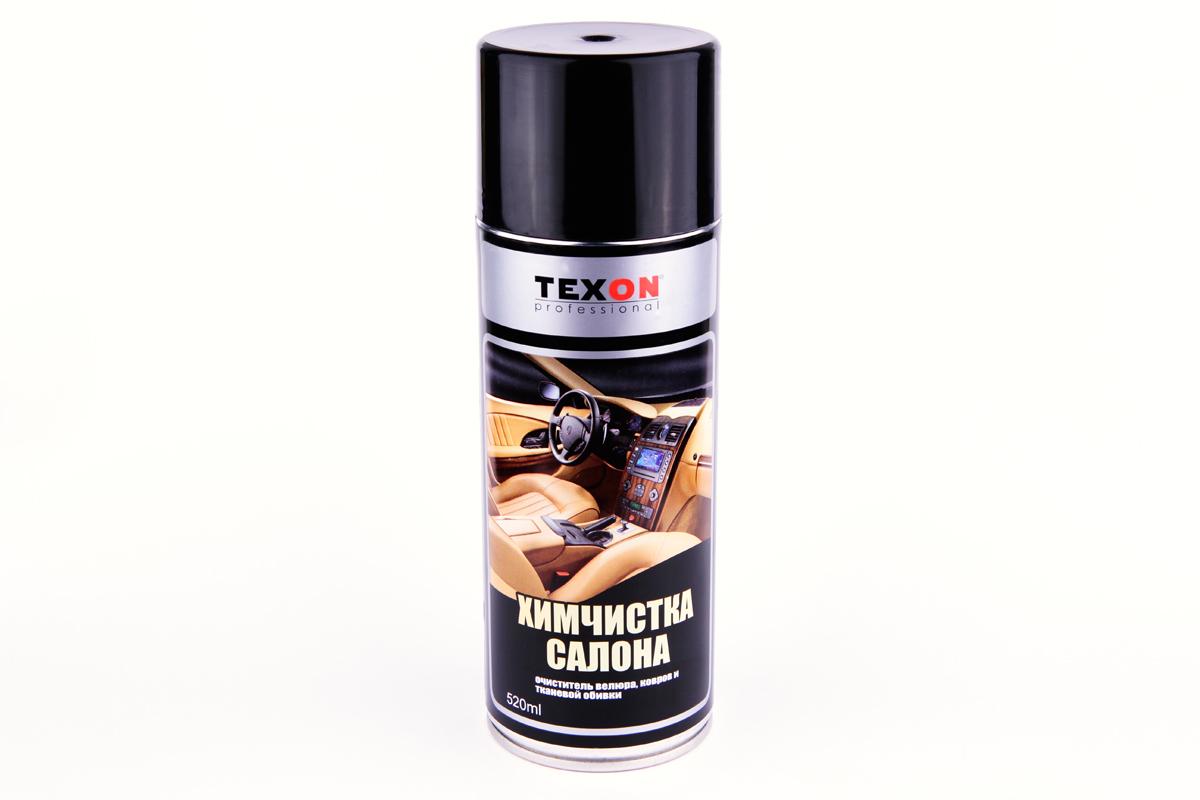 Химчистка салона TEXON 520 млPL0132Средство быстро удаляет как новую, так и старую и трудно выводимую грязь с ковриков и чехлов салона автомобиля, эффективно очищает любые текстильные и ворсистые поверхности от грязе-пылевых, жировых загрязнений, пролитый кофе, пятна от соусов, шоколада и другой еды. Восстанавливает естественный первоначальный цвет ткани. Обработанное место в дальнейшем меньше загрязняется приобретения антистатические свойства.