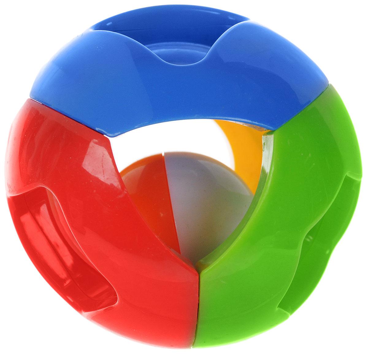 Малышарики Погремушка Чудо-шар цвет красный зеленый синийMSH0302-002_красный, зеленый, синийПогремушка Малышарики Чудо-шар выполнена в ярком дизайне и из безопасных материалов. С первых месяцев жизни малыш начинает интересоваться яркими, подвижными предметами. Погремушка Чудо-шар - яркая, звонкая, первая игрушка малыша. Она не только дарит ребенку радость, н и помогает ему знакомиться с окружающим миром. Игрушка развивает мелкую моторику, слуховое восприятие и концентрацию внимания.